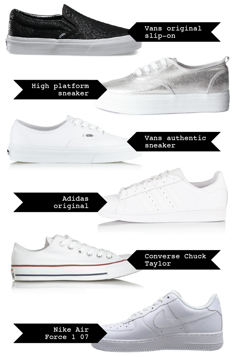 classic-items-making-a-comeback, classic-sneakers, classic-converse, classic-vans, classic-nike