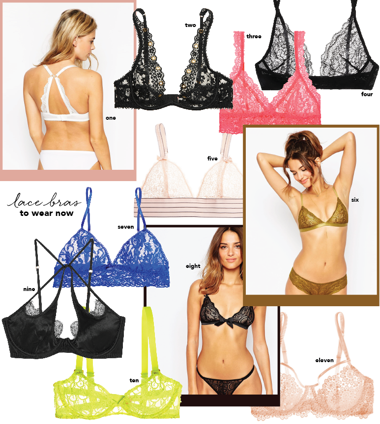 Lace Bras To Wear Now What Bra