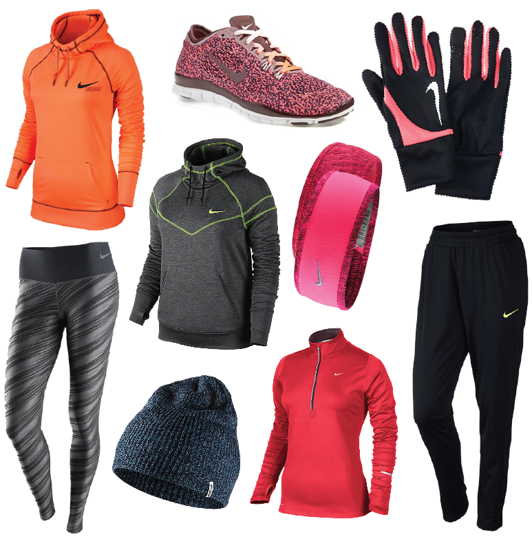 sports-clothes, sports, nike, pants, leggings, tennis-shoes, headbands, beanies, socks, gloves
