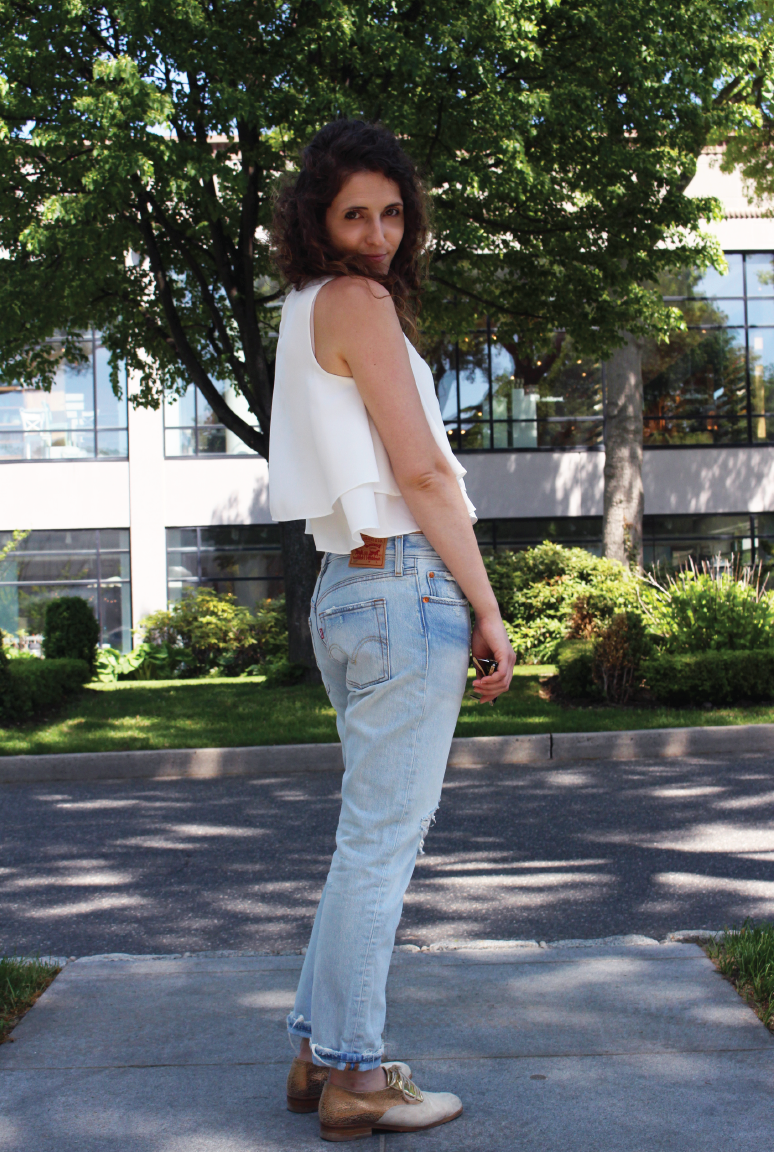 americana-manhasset, running-errands, outfit-of-the-day, ootd, #ootd, levis-501
