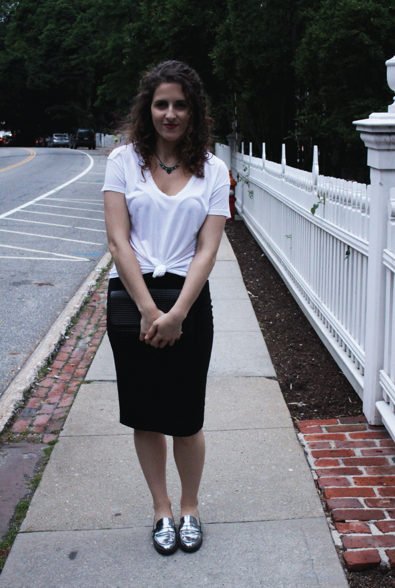 date outfit pencil skirt