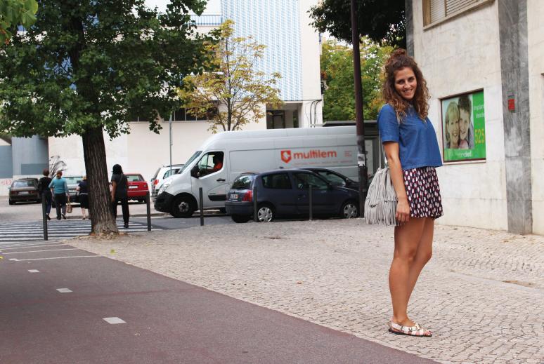outfit-of-the-day, denim-pattern-skirt, denim-shirt, essential-denim-shirt, summer-denim-shirt, fall-denim-shirt